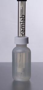 Camlab pH Electrode Soaker storage bottle