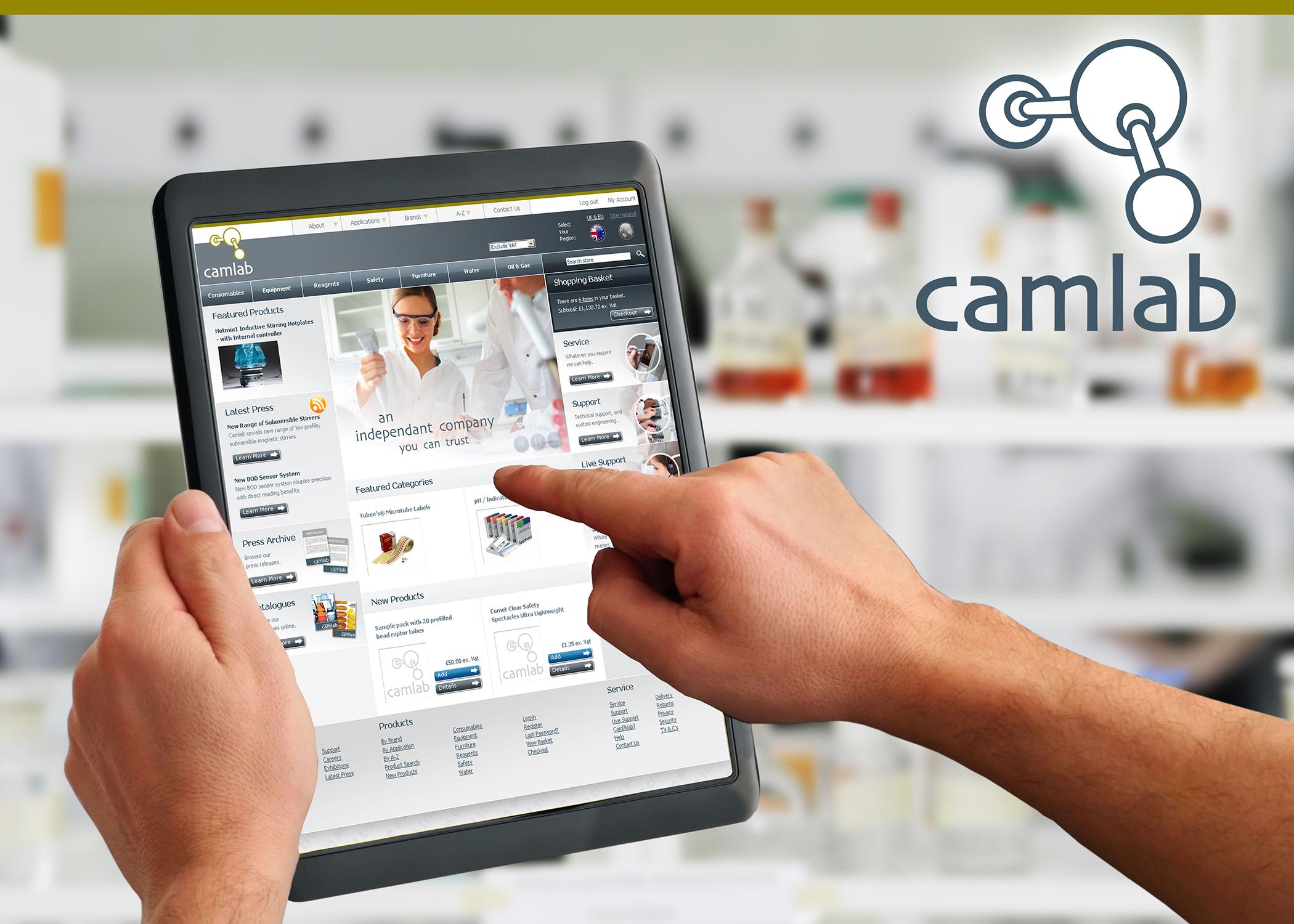 Camlab's New Websites